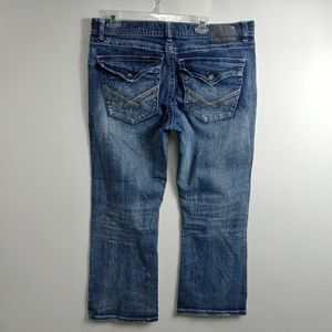 Axel Mens Jeans Size 36x30 Measures 36x28.5 Boot
